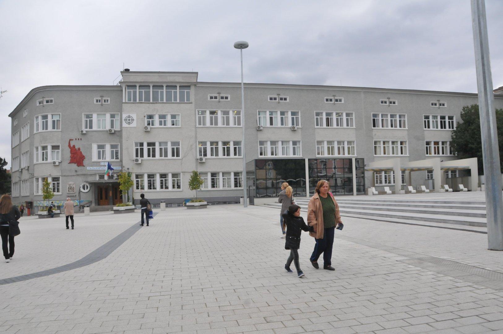 СУ Св. св. Кирил и Методий е едно от училищата в срещата. Снимка Архив Черноморие-БГ