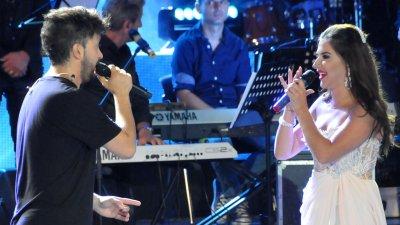 Георги и Веселина взривиха с изпълнението си Летния театър. Снимки Лина Главинова