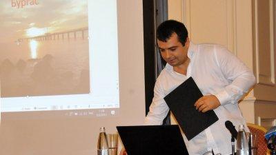 Константин Бачийски обяви проекти си за Равнец по време на предизборната кампания през 2019 година. Снимка Архив Черноморие-бг
