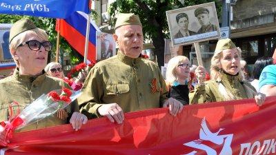 Шествието премина по пешеходната улица Александровска. Снимки Лина Главинова