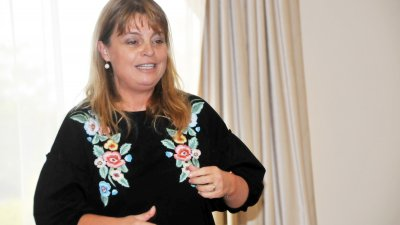 Мария Касимова-Моасе за автори път ще гостува на Порт Прим Арт Фест. Снимка Архив Черноморие-Бг