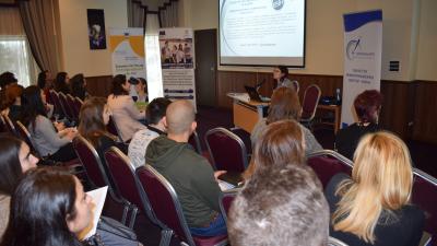 Беше презентиран и проектът на програма Хоризонт 2020 - Innowwide. Снимка ОИЦ - Варна
