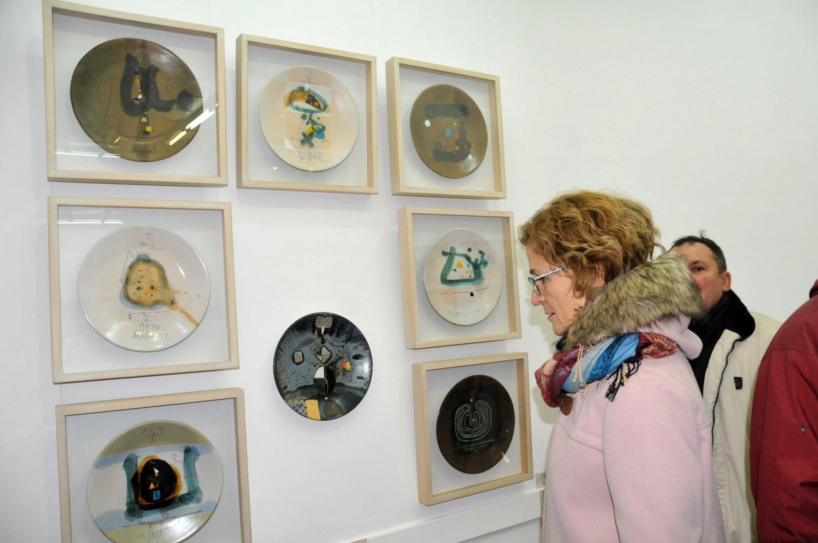 Изложбата може да бъде разгледана до 20-ти март. Снимки Лина Главинова