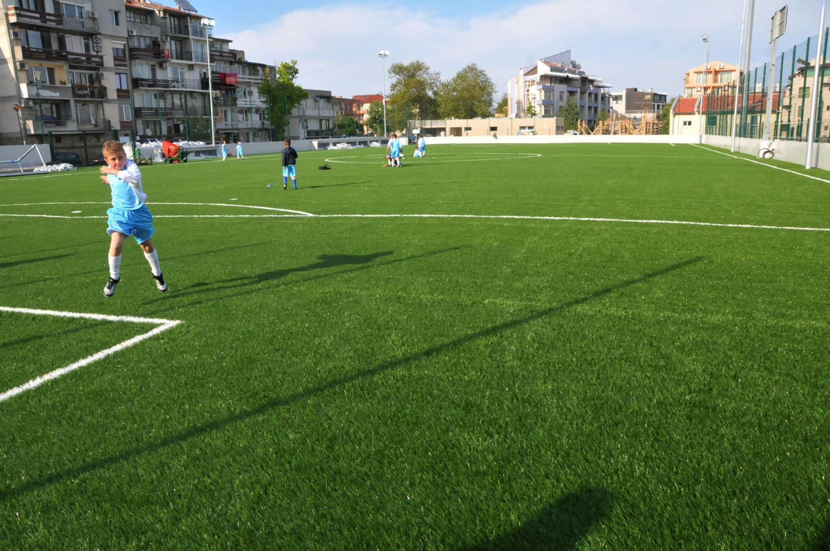 Децата на Созопол ще играят футбол на ново спортно игрище. Снимка Архив Черноморие - бг