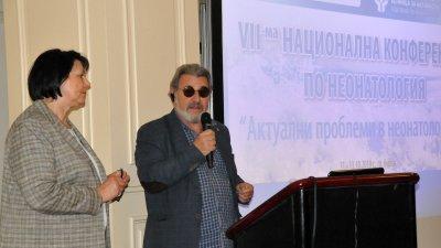 Зам.-кметът по здравеопазване в Община Бургас д-р Лорис Мануелян поздрави участниците във форума. Снимки Лина Главинова