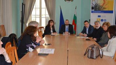 Щабът ще заседава отново на 25-ти януари. Снимка Областна управа - Бургас