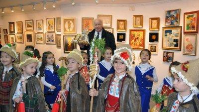 Специални гости на изложбата в талерия Бургас ще бъдат малчуганите от ЦДГ Моряче. Снимка Архив Черноморие-бг