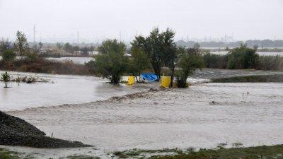 Наводнението на 25-и октомври в Бургаско взе човешки жертви и причини огромни щети. Снимка Лина Главинова