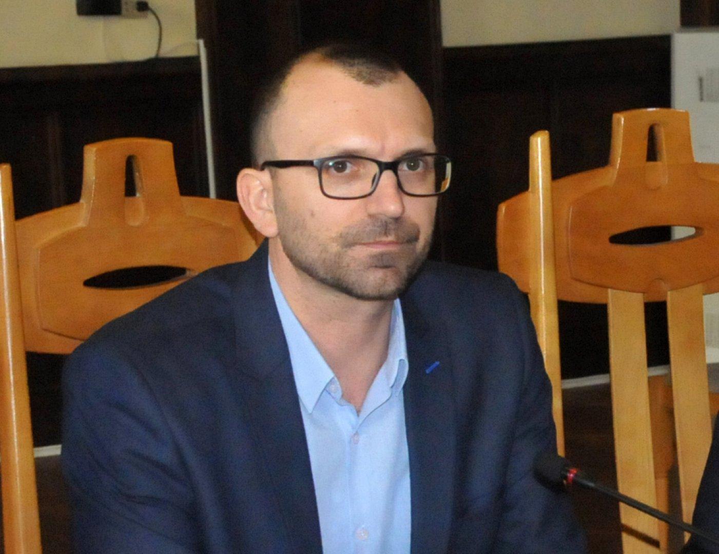 Вълчо Чолаков - областен управител на област Бургас. Снимка Лина Главинова