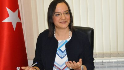 Сенем Гюзел е новият генерален консул на Република Турция в Бургас. Снимка Лина Главинова