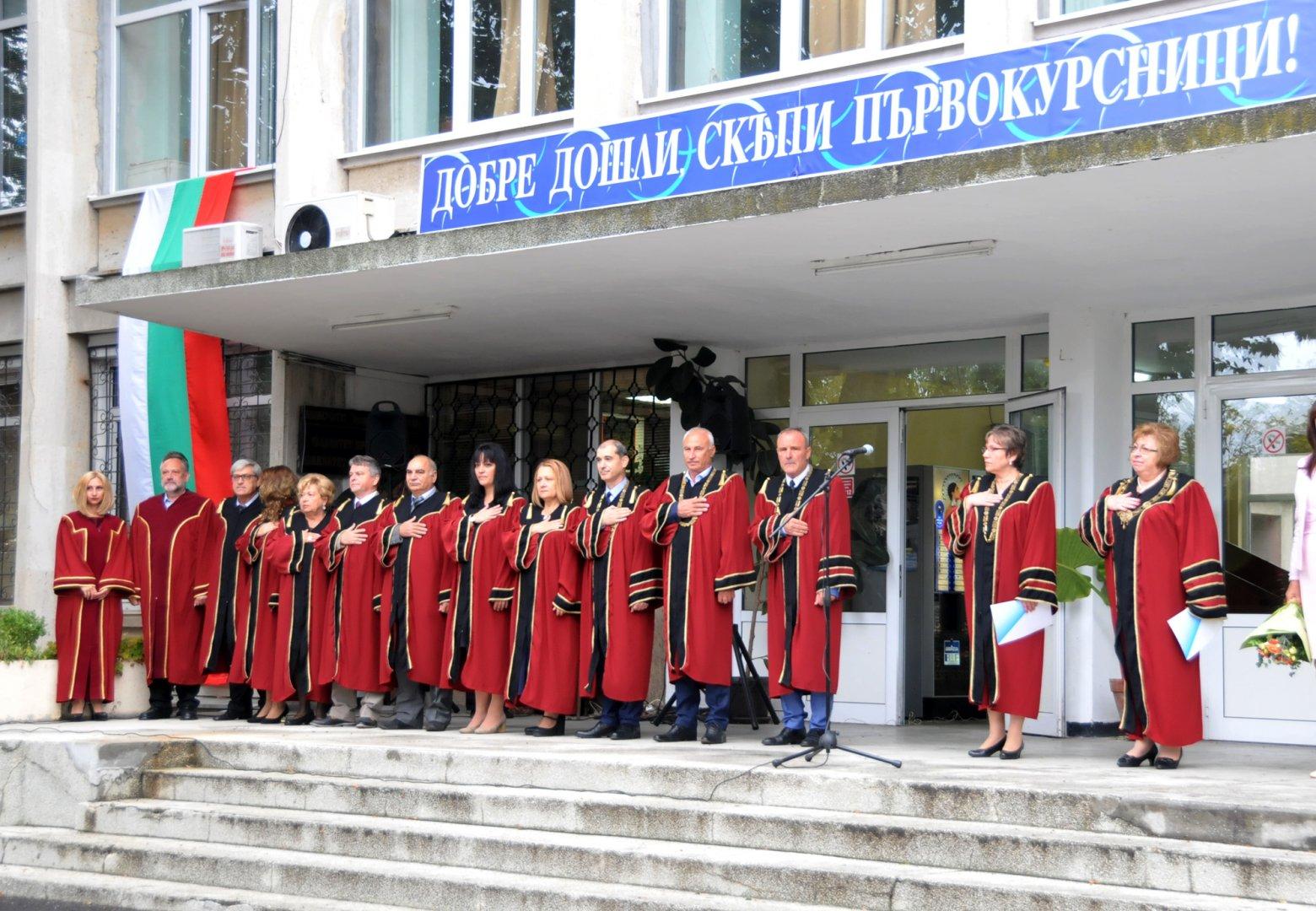 Проф. Сотиров е зам.-ректор на университет Проф. д-р Асен Златаров