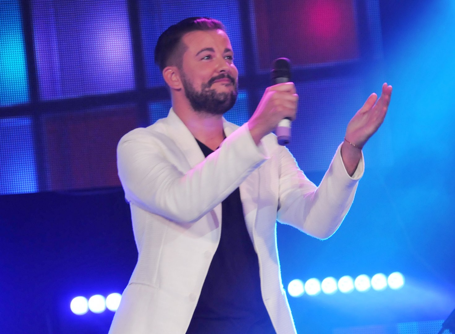 Песента Морско синя любов донесе приза на публиката на Стефан Илчев през 2018 г. Снимка Лина Главинова