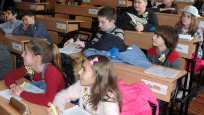 Всички ученици от втори клас могат да участват в състезанието по английски език. Снимка: Архив Черноморие-бг