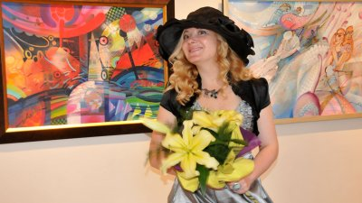 Лора Янева има свой почерк и стил. Снимка Лина Главинова