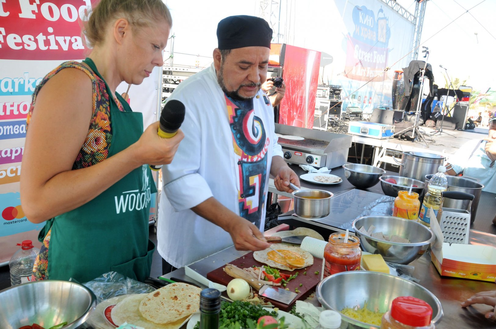 Варненското издание на фестивала е след бургаското, което се проведе преди броени дни. Снимка Лина Главинова