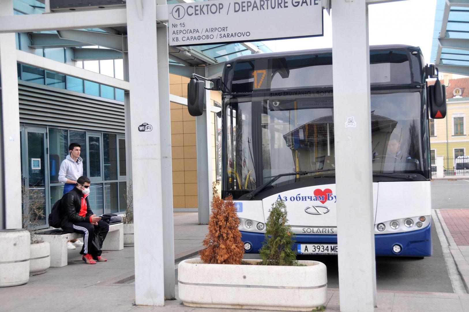 Няма да има промяна в цената на билета за градския транспорт. Снимка Архив Черноморие-бг