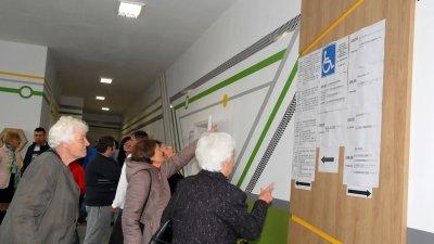 Почти 20% от имащите право на глас жители на общината вече са го упражнили. Снимка Лина Главинова