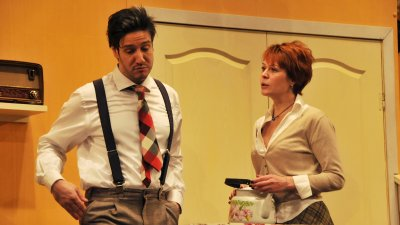 Тони Мининасян изпълняв главната роля в комедията Лоши момчета. Снимки Лина Главинова