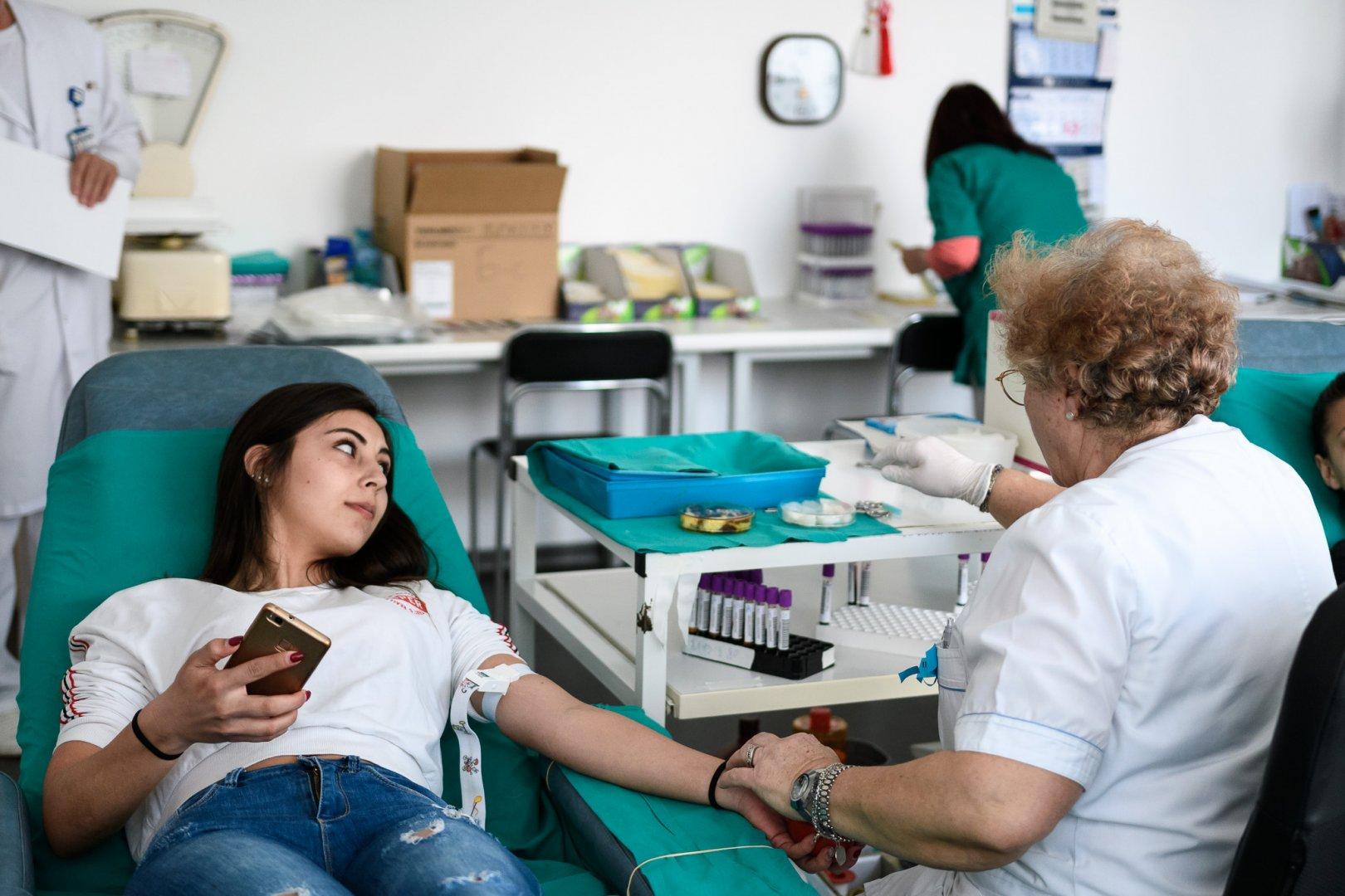 Даряването ще става в Отделението по трансфузионна хематология в Бургас. Снимка УМБАЛ