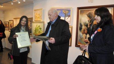 Руси Куртлаков ще връчи три награди на откриването на изложбата. Снимка Архив Черноморие-бг