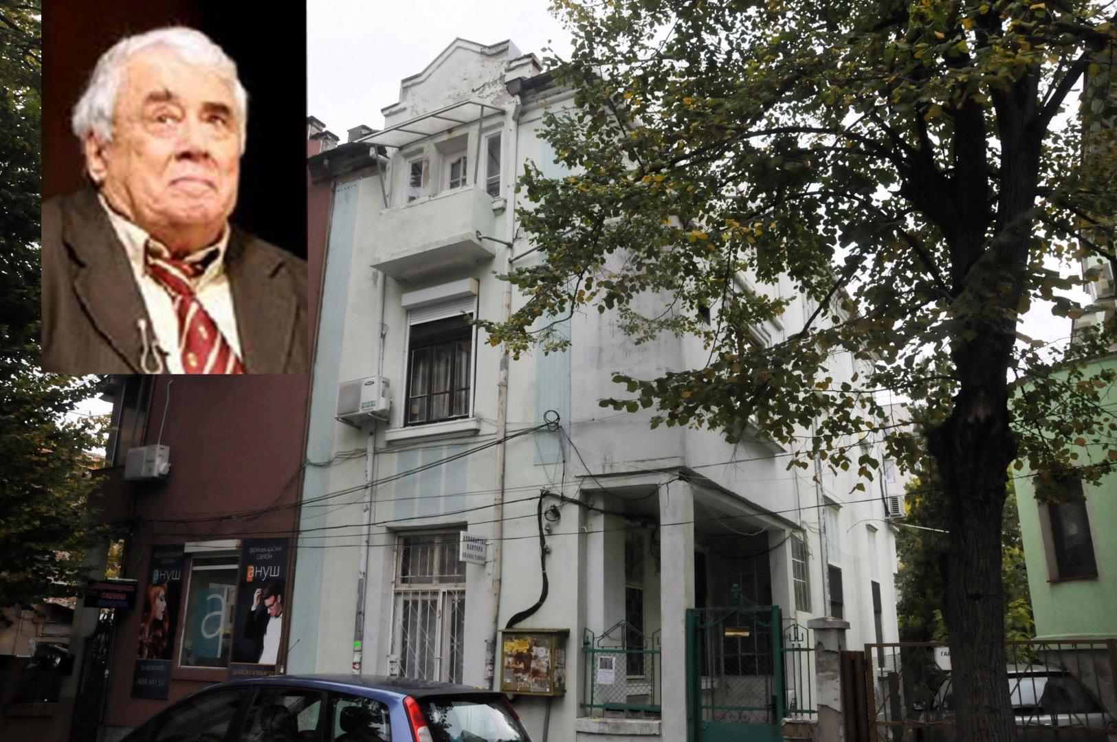 Тук е бил домът на фамилия Калоянчеви. Снимки Лина Главинова