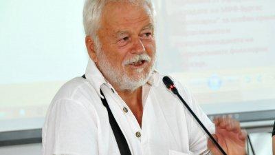 Помня първите носители на приза Нестинарка, каза Ненчо Русев. Снимка Лина Главинова