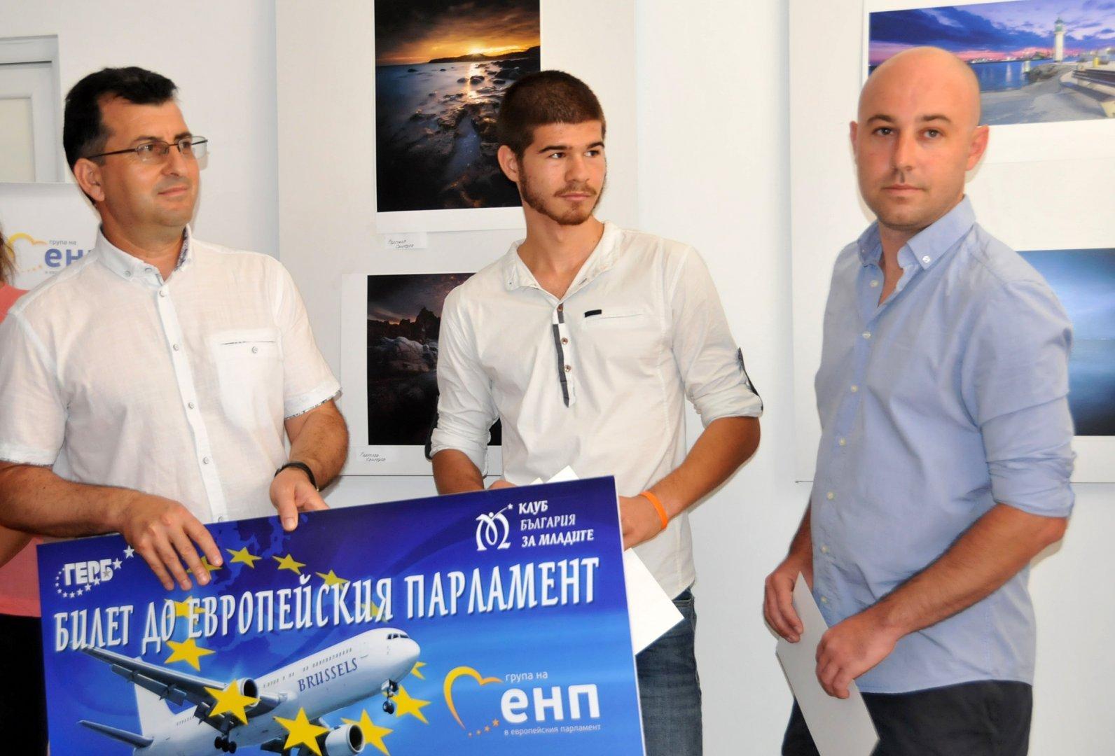 Това е поредната инициатива на евродепутатът Асим Адемов (вляво). Снимка Архив Черноморие-бг