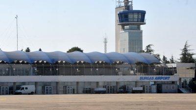 Сега започна търсенето на служители на летището. Снимка Архив Черноморие-бг
