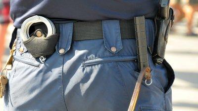 Мъжът е задържан от униформените в Средец. Снимка Архив Черноморие-бг