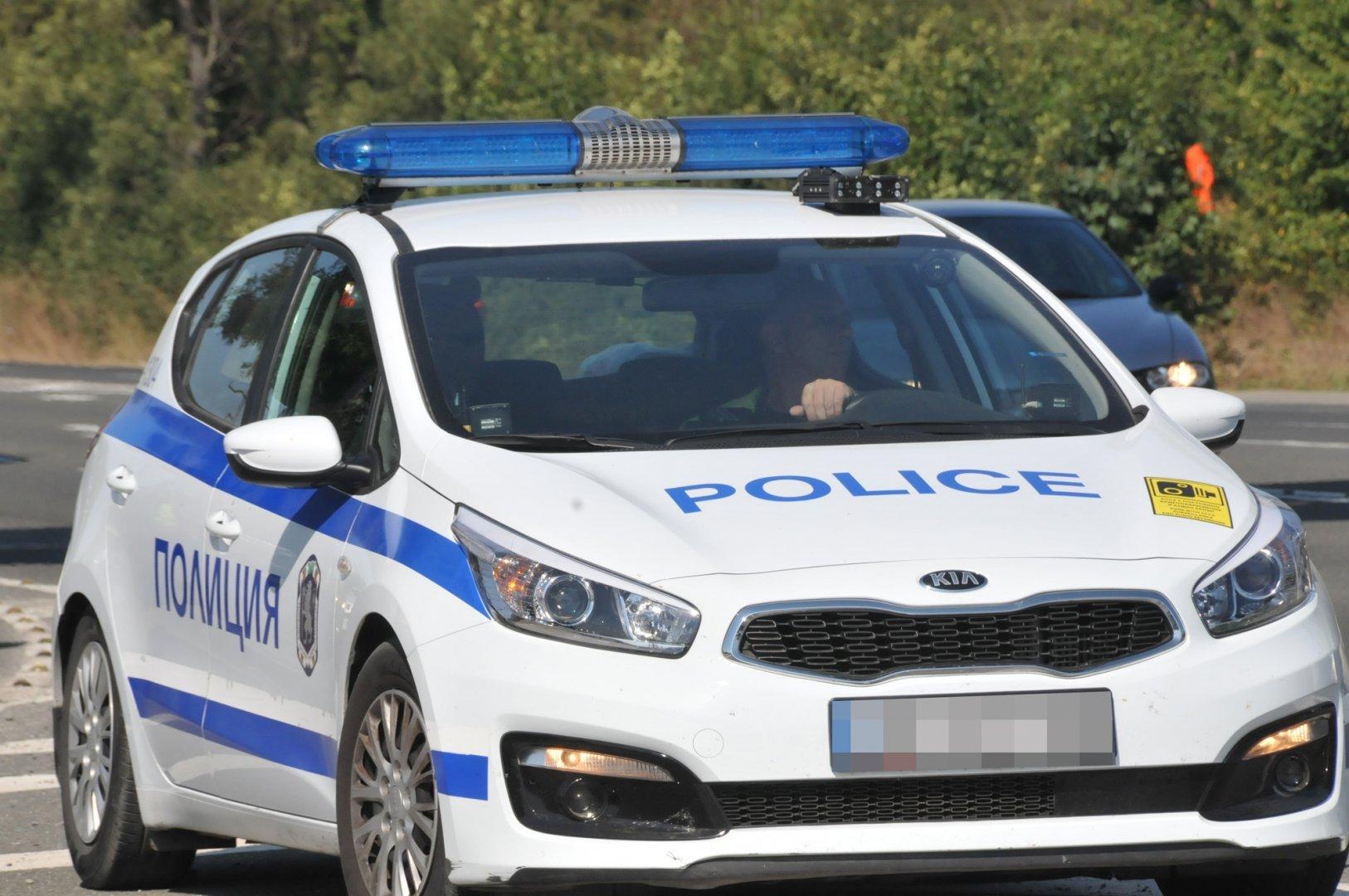 Инцидентът станал в ранния следобед на кръстовище в Слънчев бряг. Снимка Архив Черноморие-бг