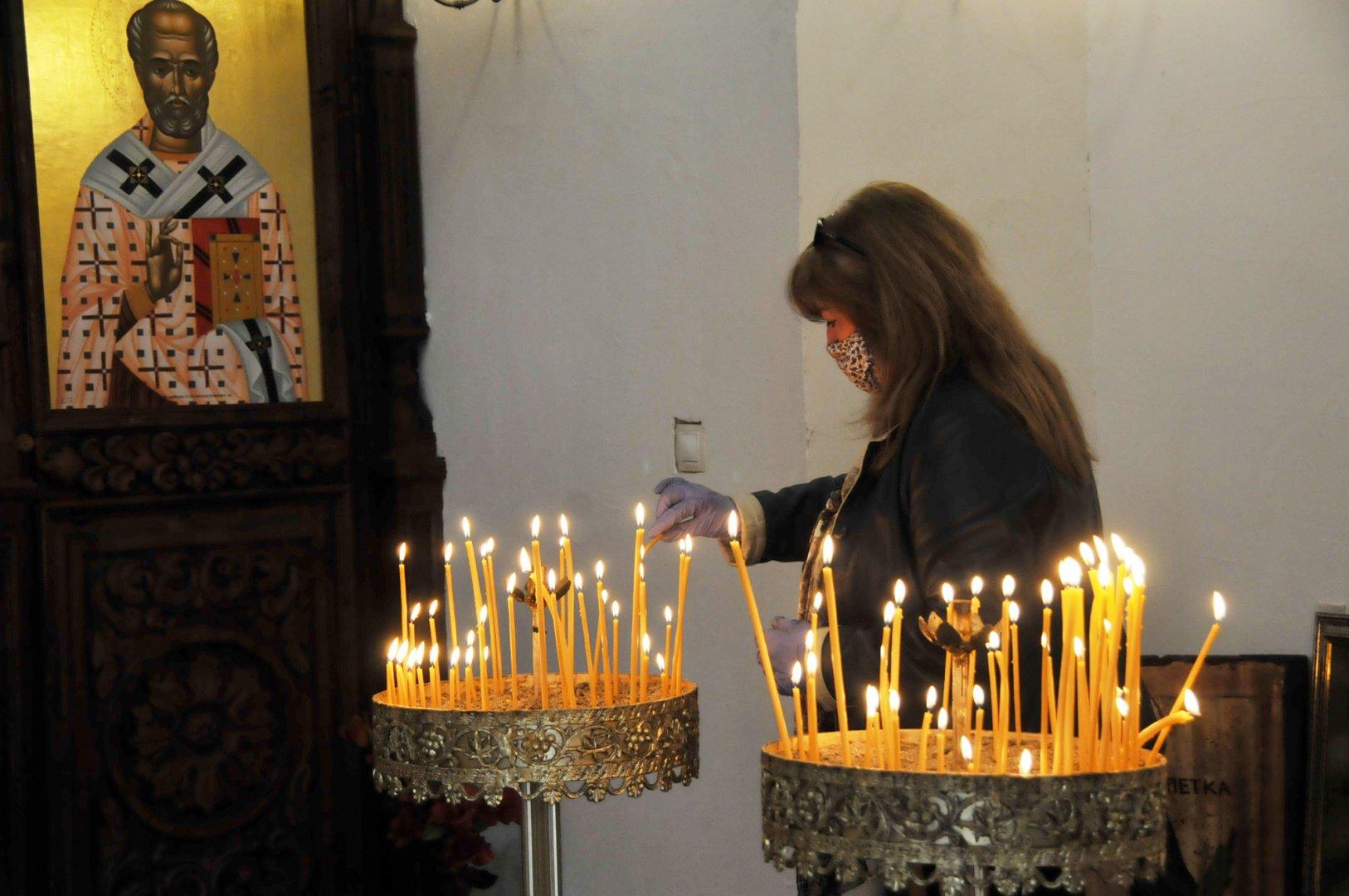 Църквата почита днес светците Константин и Елена. Снимка Черноморие-бг