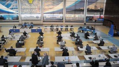 С 36 гласа за съветниците подкрепиха поемането на нов дълг от Община Бургас. Снимка Архив Черноморие-бг