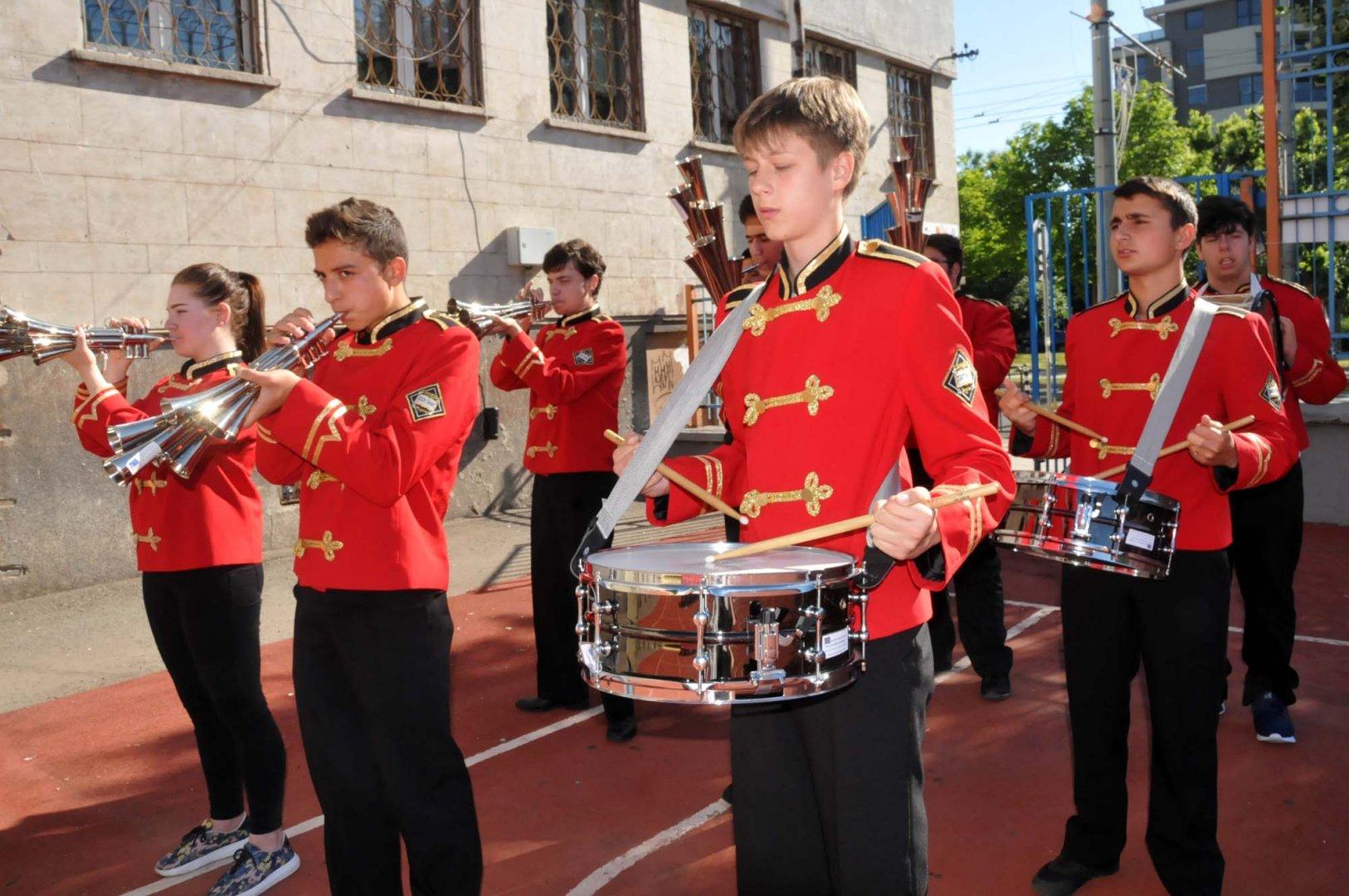 Учениците от гимназията ще покажат музикалните си умения. Снимка Архив Черноморие-бг