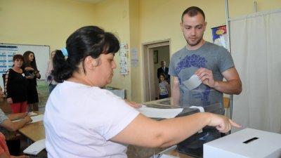 357 096 са избирателите в област Бургас, които могат да гласуват днес. Снимка Лина Главинова
