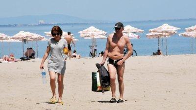 24 градуса е температурата на морската вода. Снимка Архив Черноморие-бг