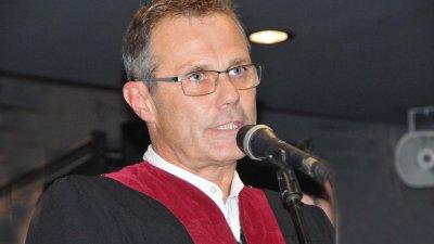 Проф. Янков спечели конкурса за ректор на Академията. Снимка Архив Черноморие-бг