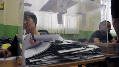 БСП е увеличила резултата с в община Бургас с над 3000 гласа в сравнение с предишния евровот. Снимка Лина Главинова
