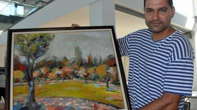 Добрин Вътев - председател на Дружеството на художниците в Бургас е автор на проекта, който спечели общинско финансиране. Снимка Архив Черноморие-бг