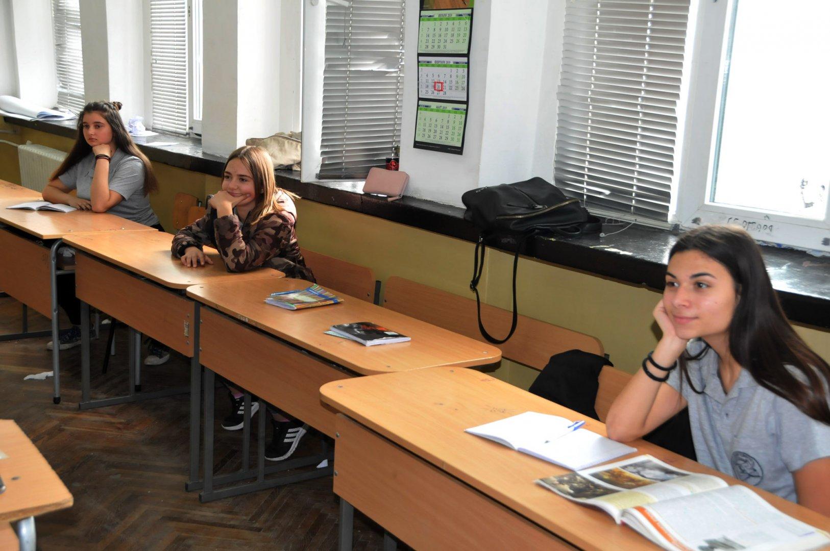 45% от учениците са болни и това доведе до обявяване на грипната епидемия в школото. Снимка Архив Черноморие-бг