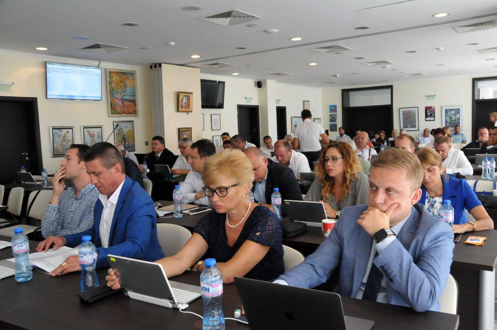Това е последното заседание на ОбС - Бургас. Снимка Архив Черноморие-бг