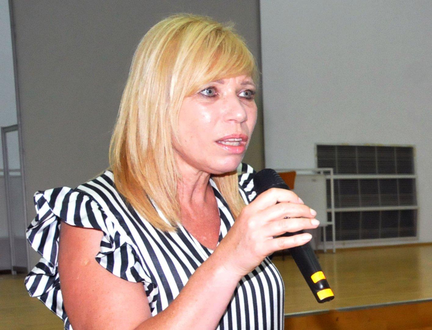 Диана Саватева става зам.-кмет в Община Бургас. Снимка Лина Главинова