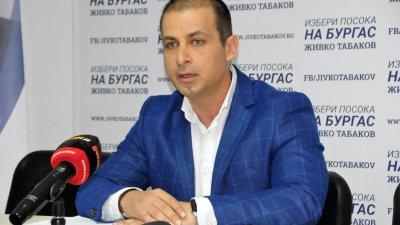Кандидатът за кмет Живко Табаков зададе чрез медиите въпроси към Николай Тишев. Снимки Лина Главинова