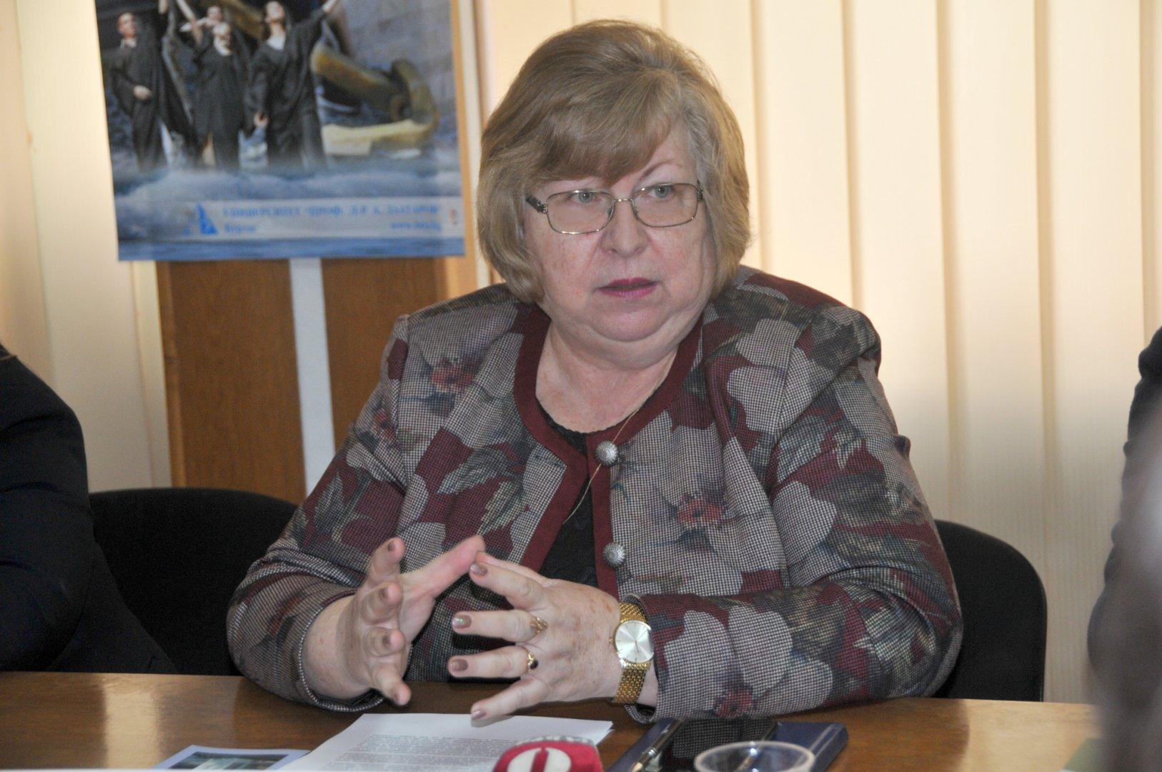 Водим преговори с Община Бургас за подкрепа на специалността Медицинска сестра. Снимка Лина Главинова