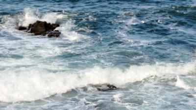 За седмица това е третата жертва на бурното море. Снимка Архив Черноморие-бг