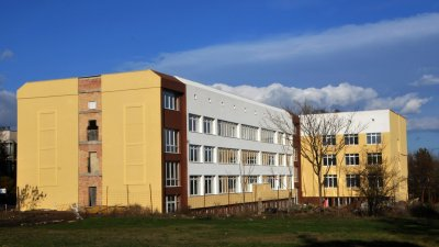 Това е сградата, в която ще се обучават бъдещите медици. Снимка Архив Черноморие-бг
