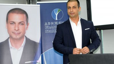 Живко Табаков бе първият, който обяви кандидатурата си за кмет на Бургас. Снимки Лина Главинова