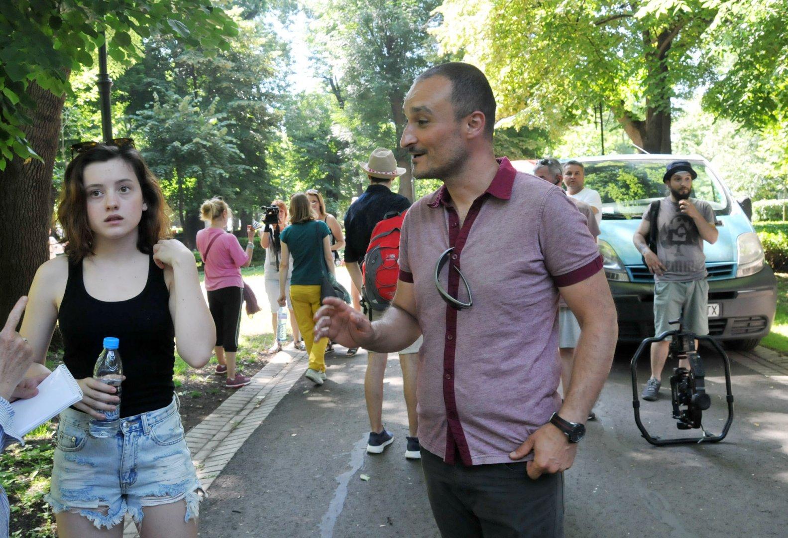 Част от снимките на филма Петя на моята Петя бяха направени през лятото на 2019 година в Бургас. Снимка Архив Черноморие-бг