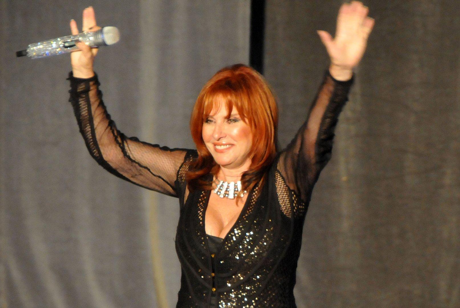 Кичка Бодурова всяка година изнася концерт в родния си Бургас. Снимка Архив Черноморие-БГ