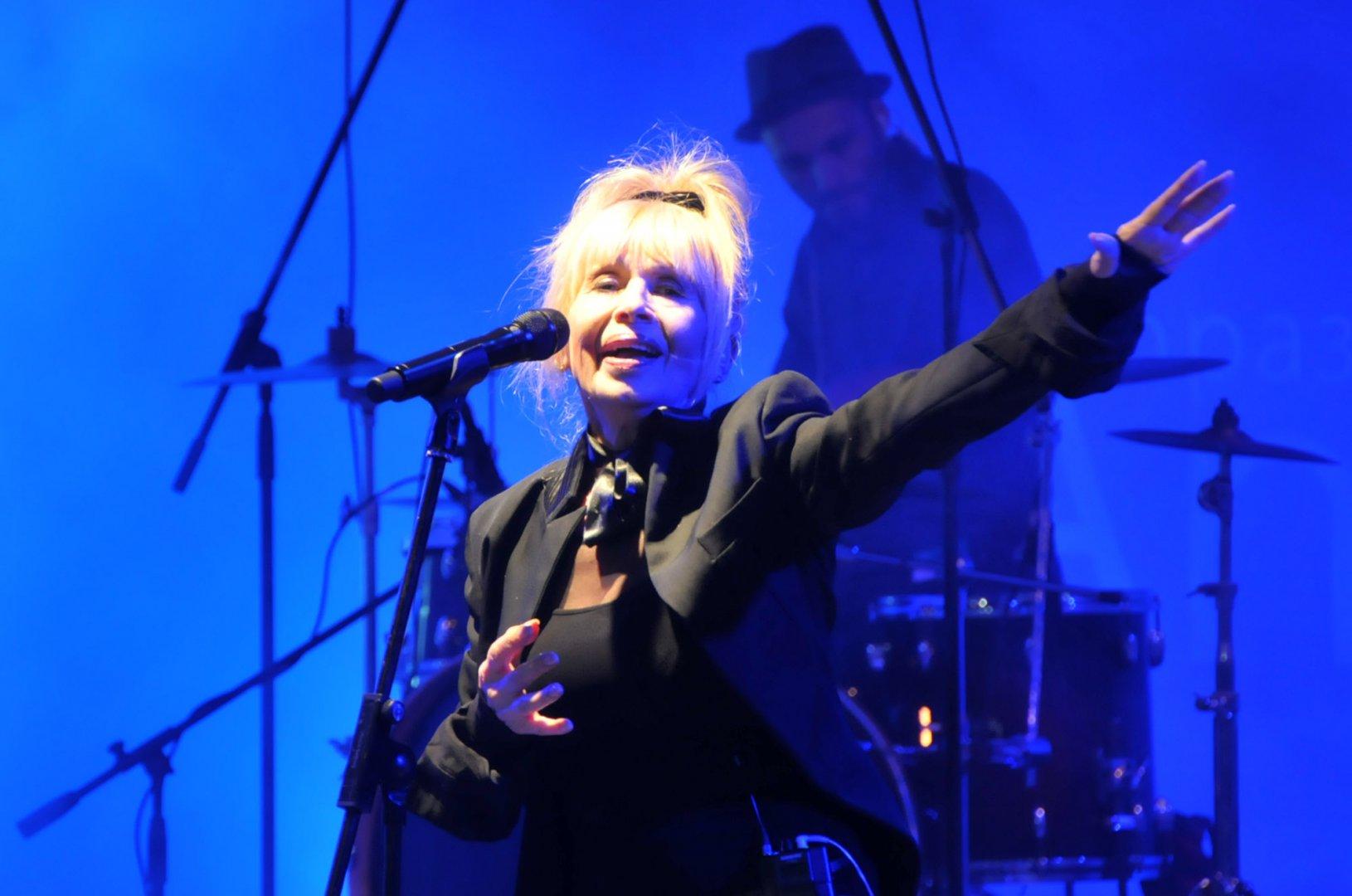 За последно Лили Иванова пя в Бургас през 2016 г. Снимка Лина Главинова