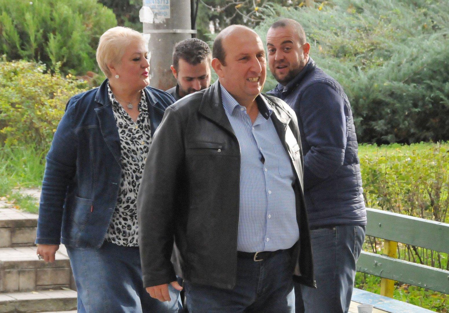 Иван Жабов спечели трети мандат в община Средец. Снимка Лина Главинова